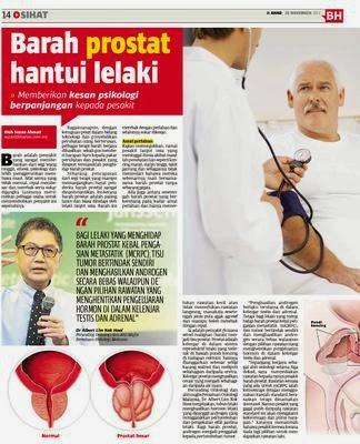 Kanser Prostat Tahap 4 Hantui Lelaki